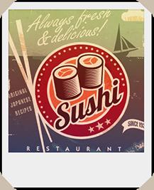 Plakat Sushi Restaurant