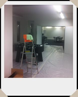 Umbau eines Büros