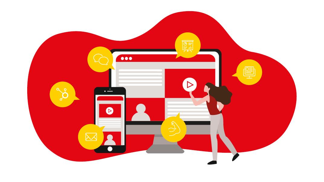 eine professionelle Webseite ist heute für ein KMU ohne Wenn und Aber matchentscheidend